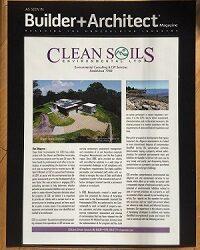 Clean Soils Article in Builder+Architect Magazine | Greater Boston | November 2015